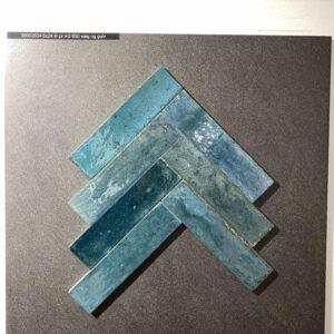 blå sildebensfliser